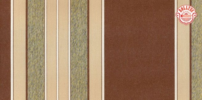 residential retractable awning fabric color brown stripes 2128
