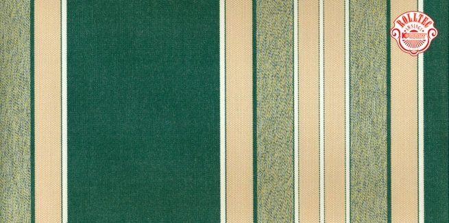 residential retractable awning fabric color green stripes 2179