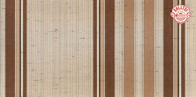 residential retractable awning fabric color brown stripes 4056
