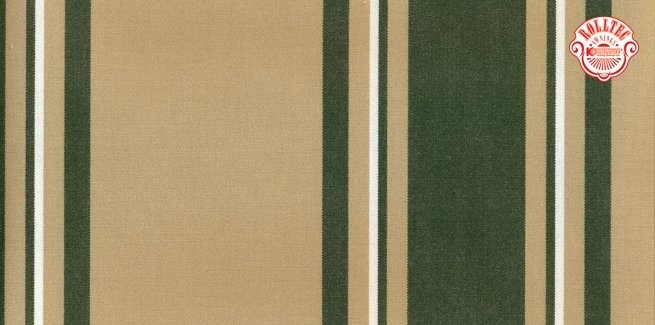 residential retractable awning fabric color green stripes 4253