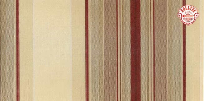 residential retractable awning fabric color burgundy stripes 8408