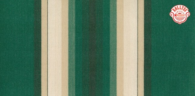 residential retractable awning fabric color green stripes 8606