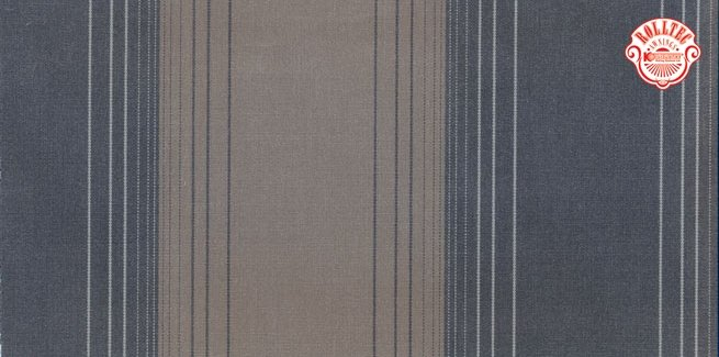 residential retractable awning fabric color brown stripes 8824