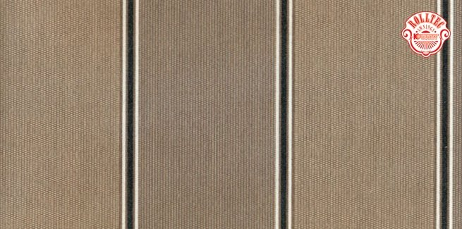 residential retractable awning fabric color brown stripes 8903