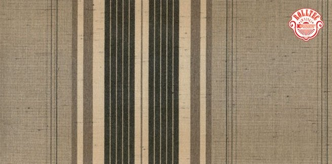 residential retractable awning fabric color brown stripes 8904