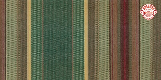 residential retractable awning fabric color green stripes 8914