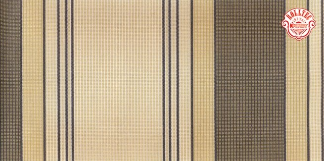 residential retractable awning fabric color brown stripes 8973
