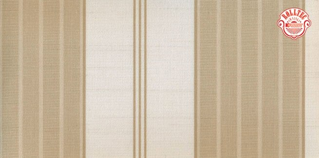 residential retractable awning fabric color brown stripes 140