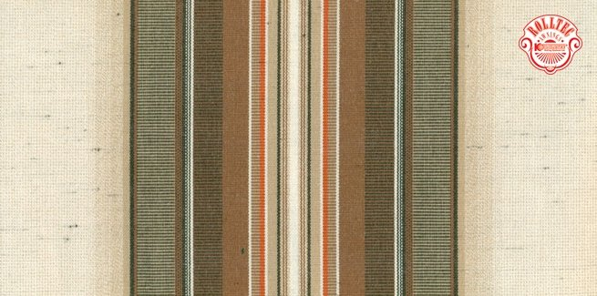 residential retractable awning fabric color brown stripes 321