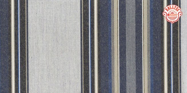 residential retractable awning fabric color blue stripes 395