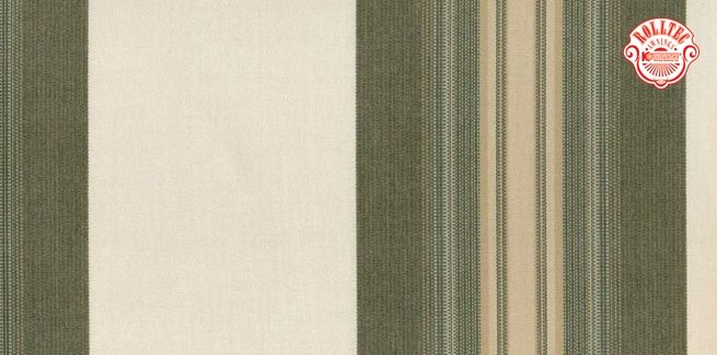 residential retractable awning fabric color brown stripes 8911