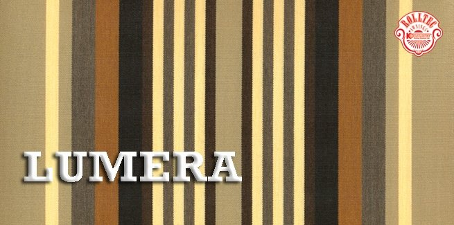 residential retractable awning fabric color brown stripes 338707 LUMERA