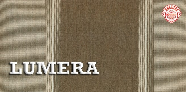 residential retractable awning fabric color brown stripes 338703 LUMERA