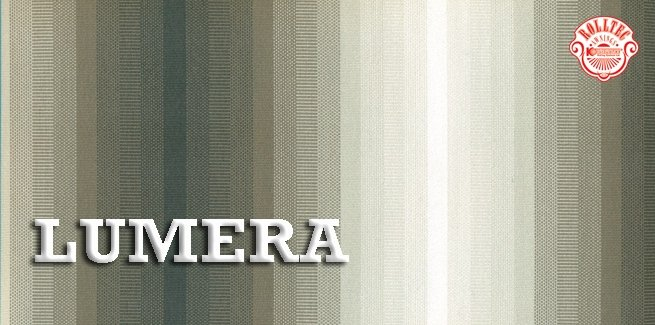 residential retractable awning fabric color brown stripes 338803 LUMERA