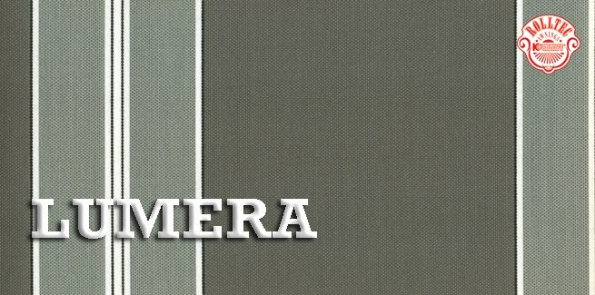 residential retractable awning fabric color black stripes 338801 LUMERA