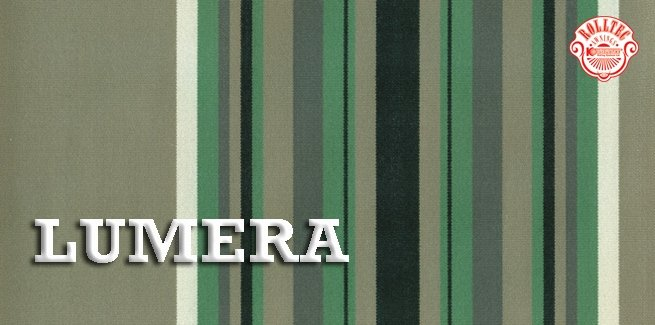 residential retractable awning fabric color green stripes 338807 LUMERA