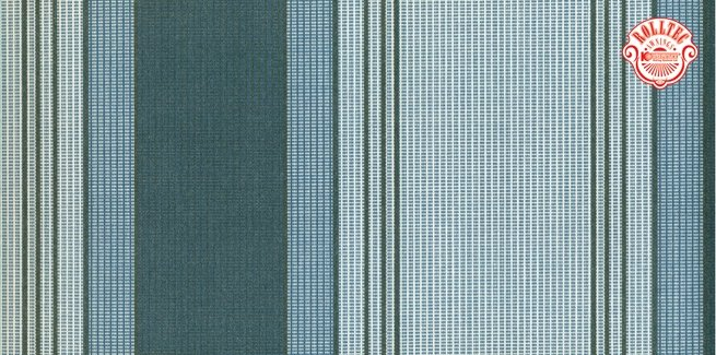 residential retractable awning fabric color blue stripes 8975
