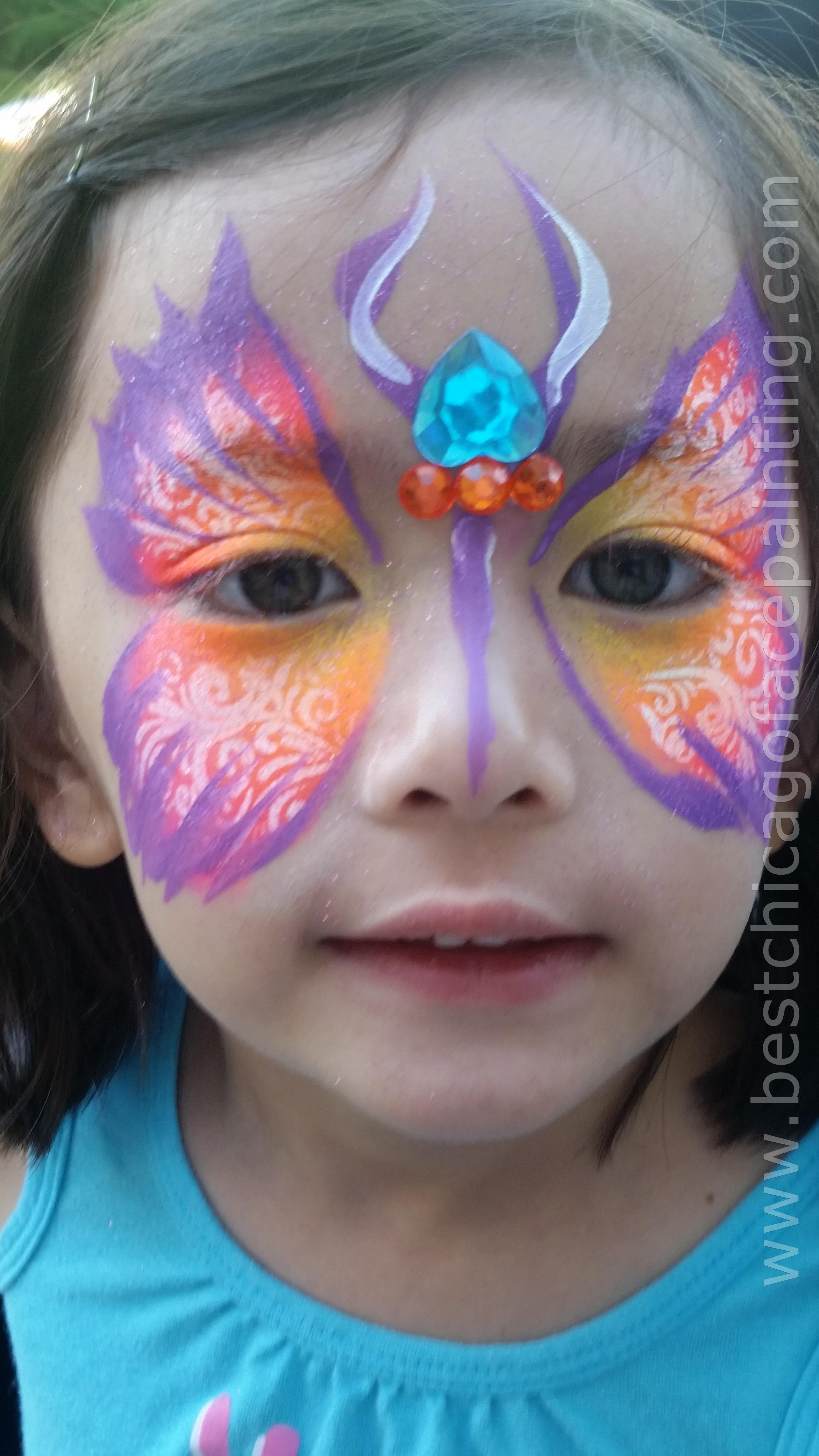 best chicago face painting photos