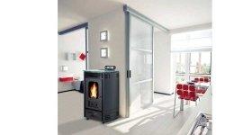 riscaldamento appartamenti, riscaldamento soggiorno, riscaldamento a pellet