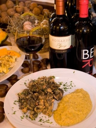 Specialita lombarde con degustazione vini