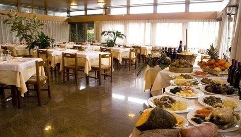 tavolo buffet per antipasti