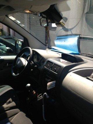 interno di un taxi