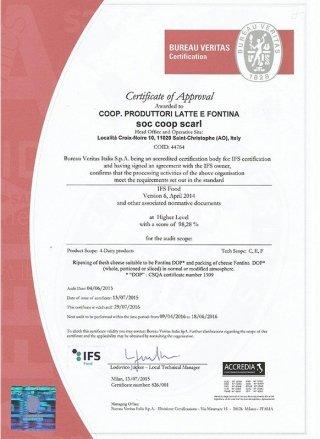 crtificato