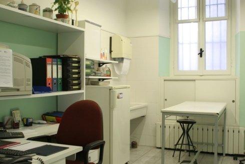Sala visite dello studio veterinario