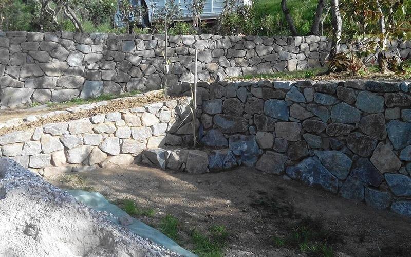 Muri e cinte in pietra