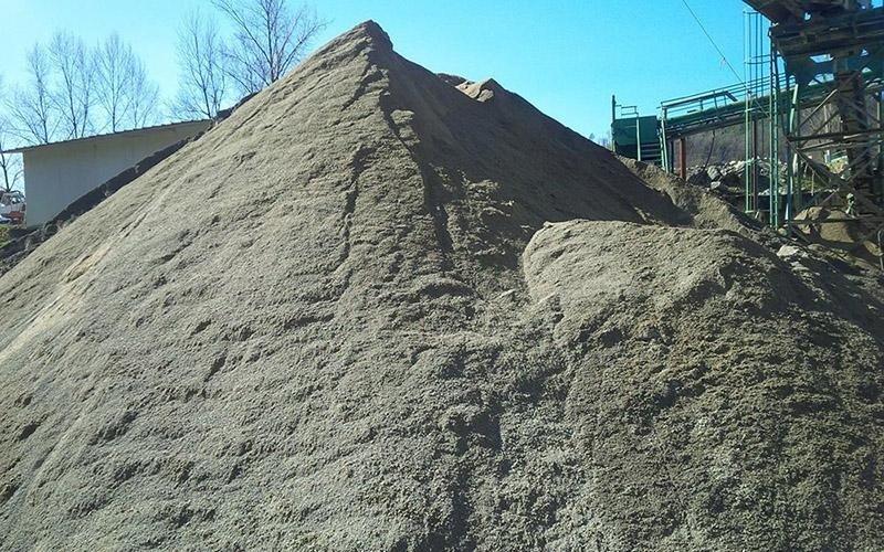 Estrazione sabbia