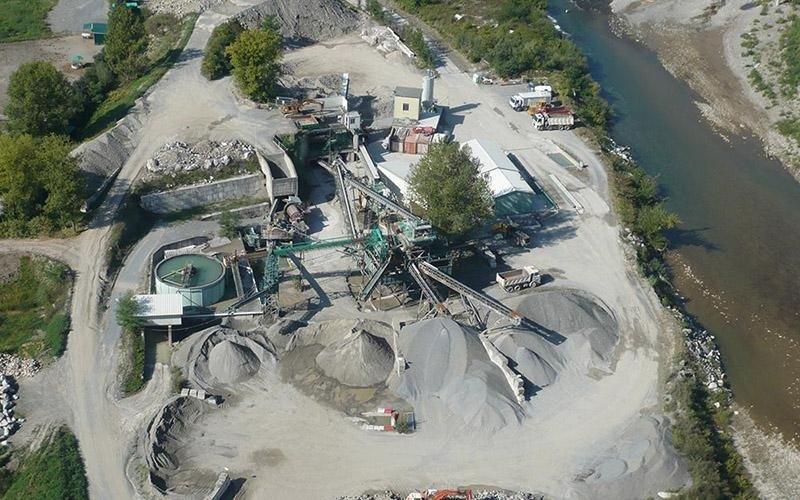 Impianto di estrazione pietra