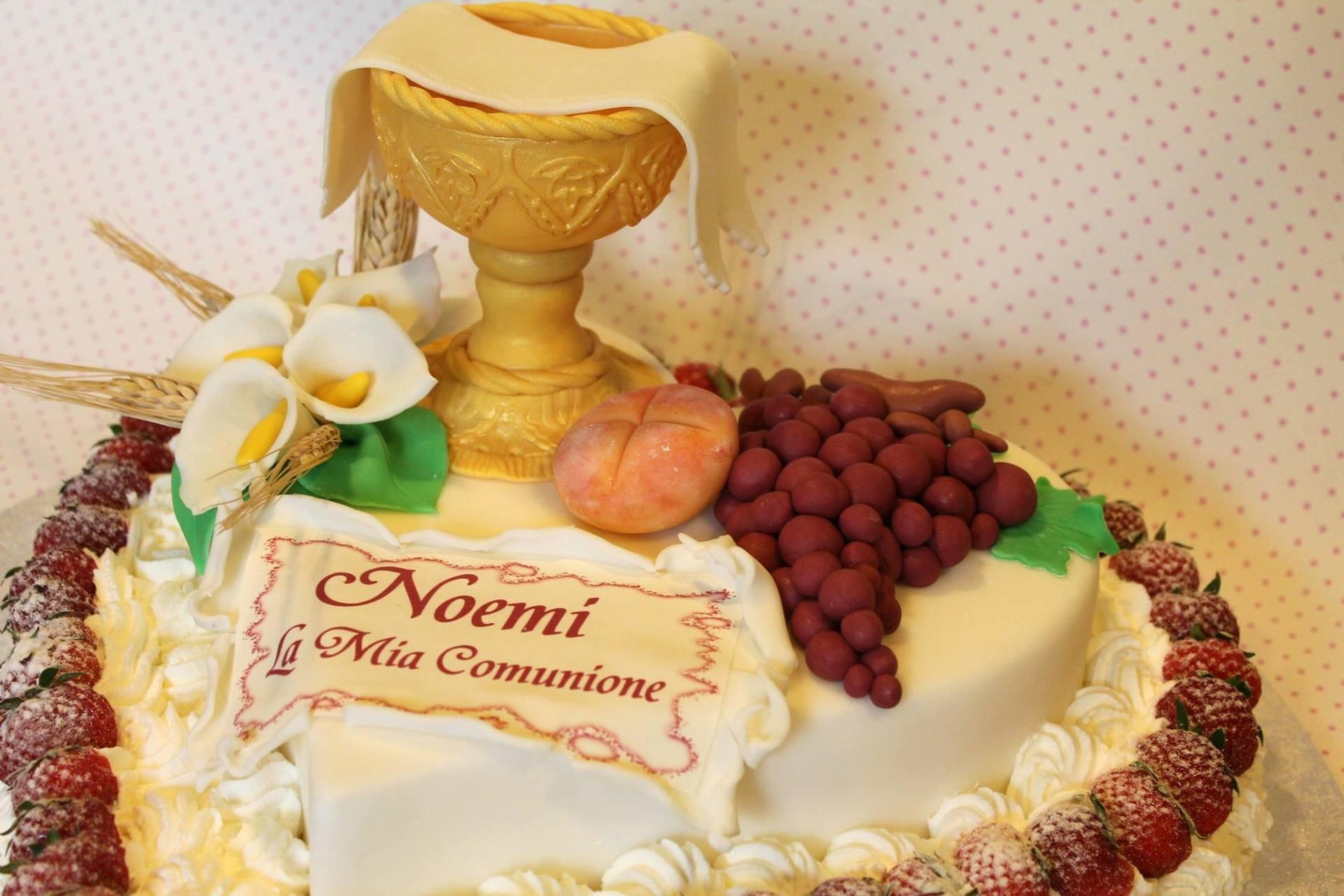torta prima comunione Noemi