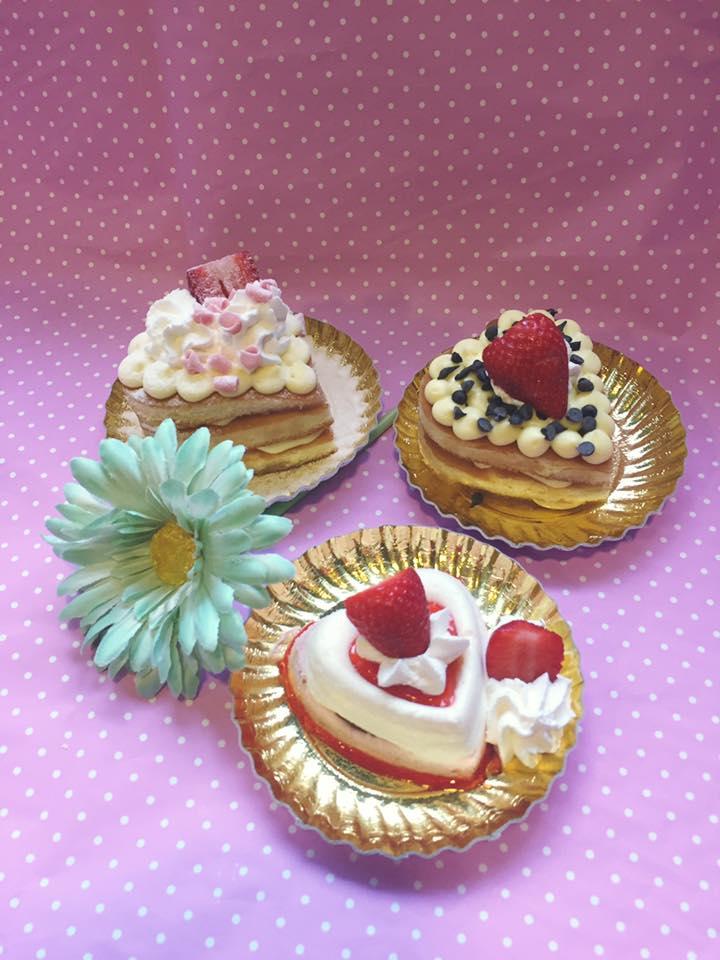 tre piccoli dessert