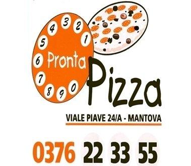 Pronta Pizza, Mantova, logo