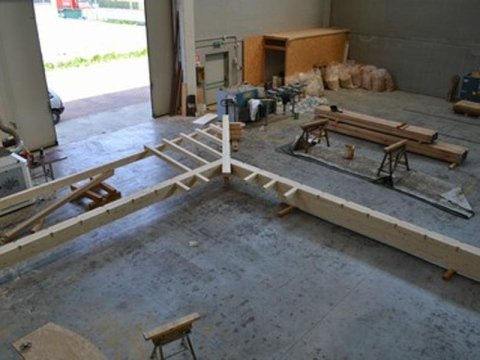 construction of wooden roofs