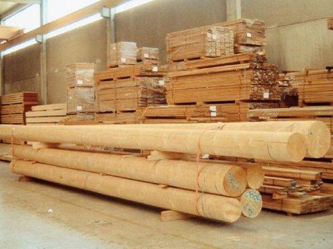 spruce beams in Parma
