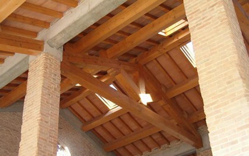 Tetti in legno massiccio Parma