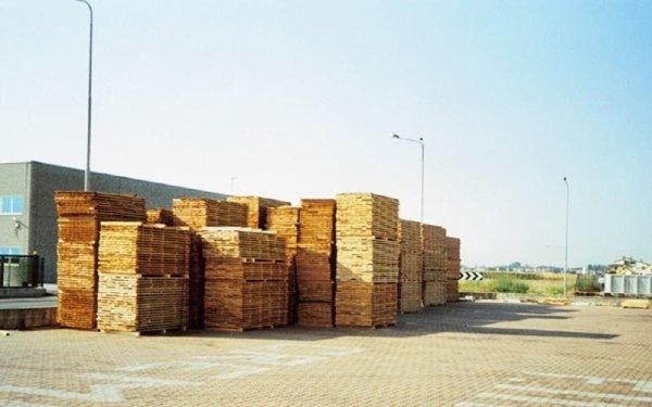 Warehouse panorama