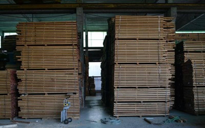 production of wooden items