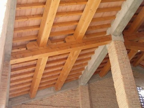Solid wood roofs