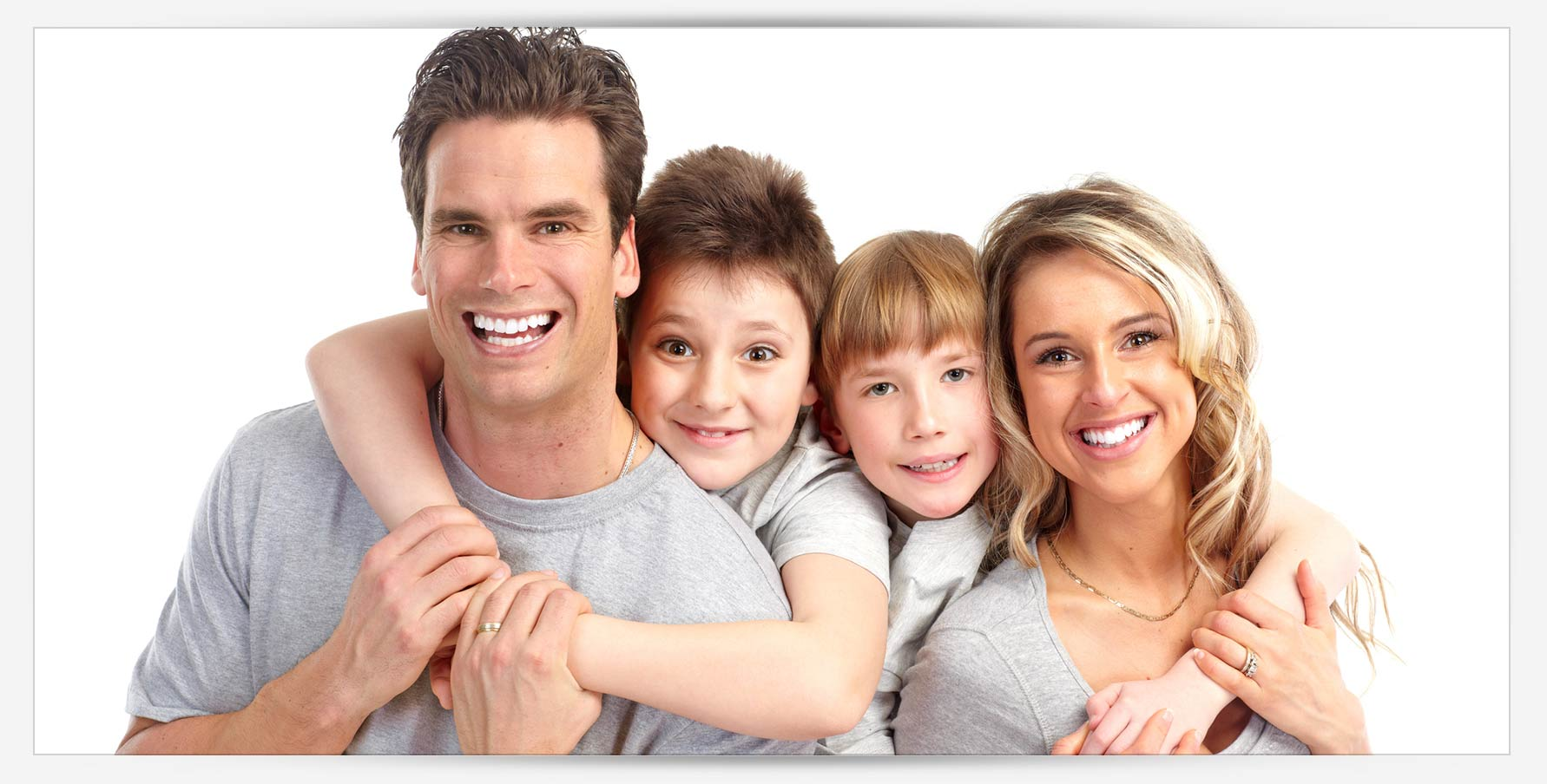 blue apple dental happy smiling family with healthy teeth