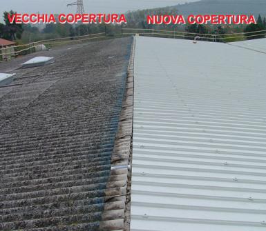 Adriatica coperture, Osimo, copertura
