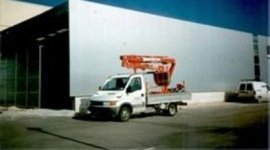 Adriatica coperture, Osimo, furgone