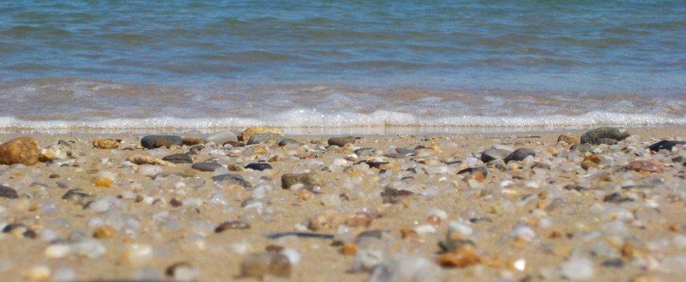 mare sassi a riva
