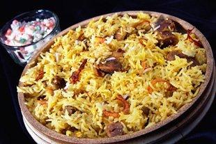 Indian Restaurant - Pontyclun, Mid Glamorgan - Indiaah - Rice