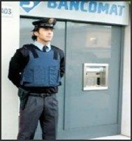 guardie giurate bancomat