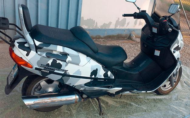 Grafiche moto e scooter PLexart Latina