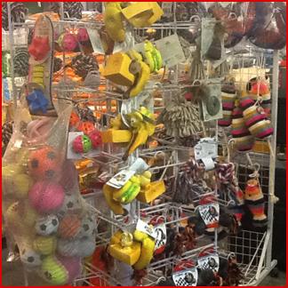 giocattoli per animali