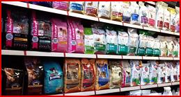 assortimento mangimi per animali
