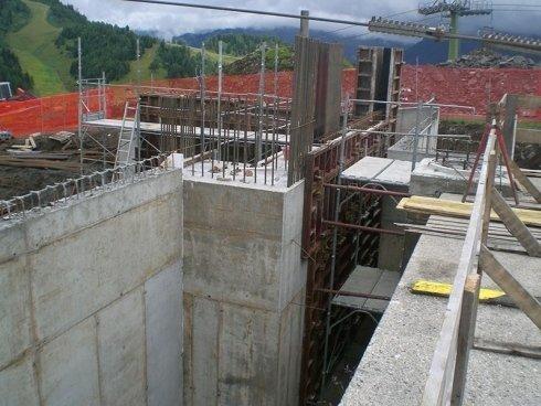 muratura edificazione stazione risalita